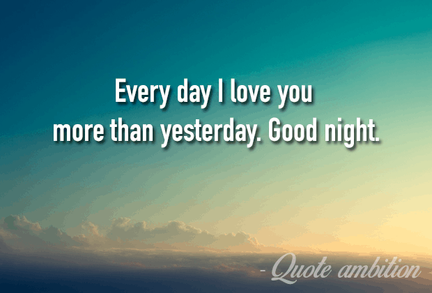 Good Night With Quotes 1