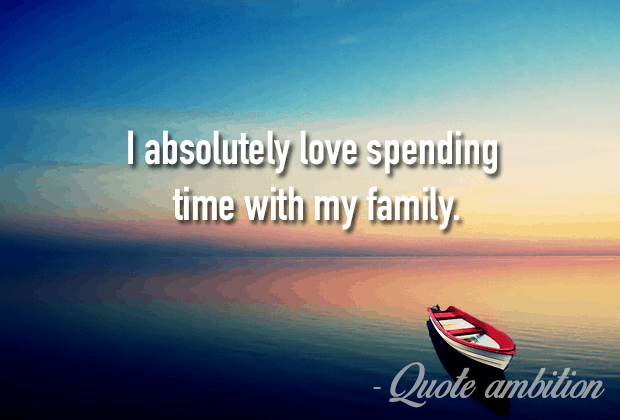 I Love My Family Quotes Cool Best 48 Inspirational Family Quotes Sayings TOP LIST