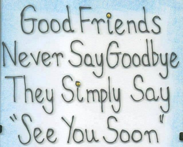 good words for farewell party