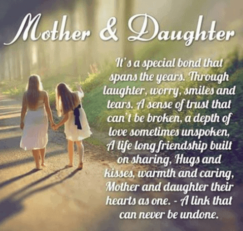 Elegant Mother Daughter Quotes