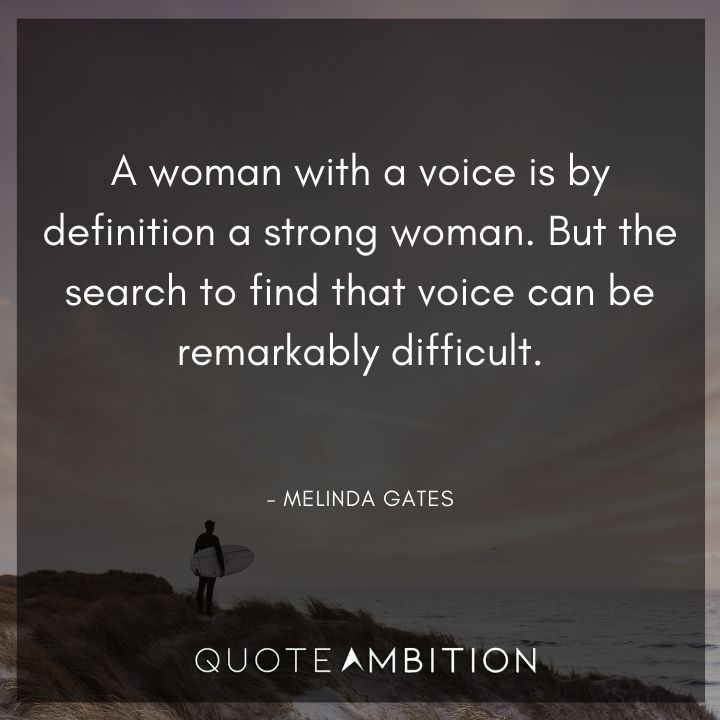 Strong Women Quotes - A woman with a voice is by definition a strong woman.