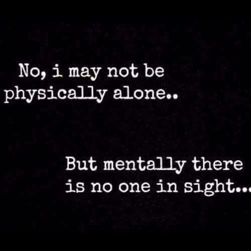 Being Alone Quotes Feeling Lonely