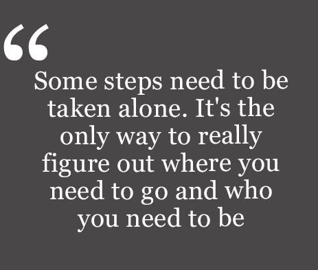 Be Alone Quotes Lonely