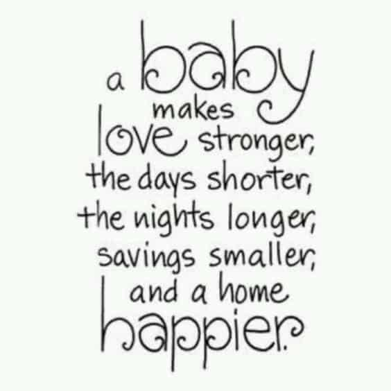 Baby Blessing Quotes Best Top 48 Sweet Baby Quotes And Sayings