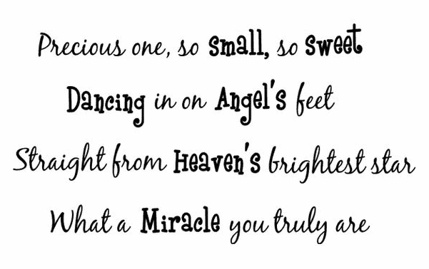 Baby Blessing Quotes Custom Top 48 Sweet Baby Quotes And Sayings