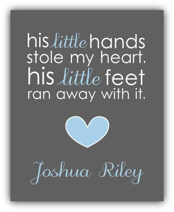 Top 60 Sweet Baby Quotes And Sayings Awesome Best Small Quotes