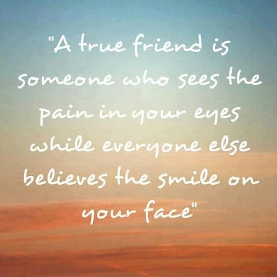 Friendship Quote True Friend. U201c