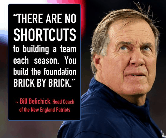 There Are No Shorcuts To Building A Team