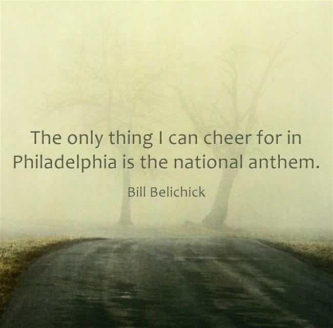 bill belichick saying