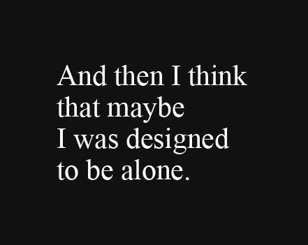 Be Alone Quotes