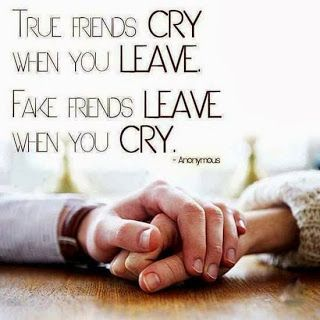 Quotes on fake friends. True friends
