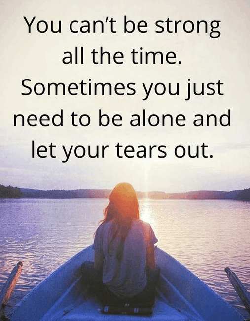 Be Alone Quotes Feeling Lonely