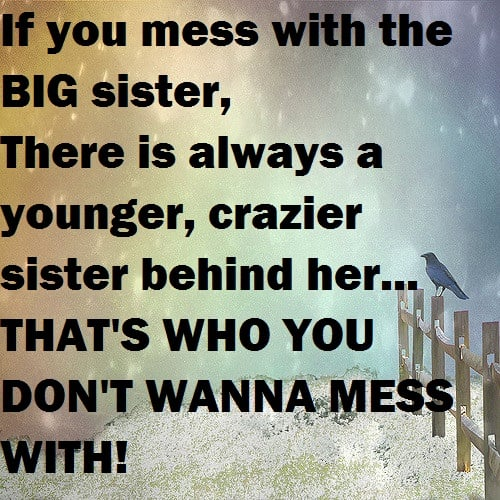 Funny Sister Quotes Top 100 Sister Quotes And Funny Sayings With Images Funny Sister Quotes