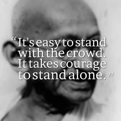 Genial Mahatma Gandhi Quotes. U201c