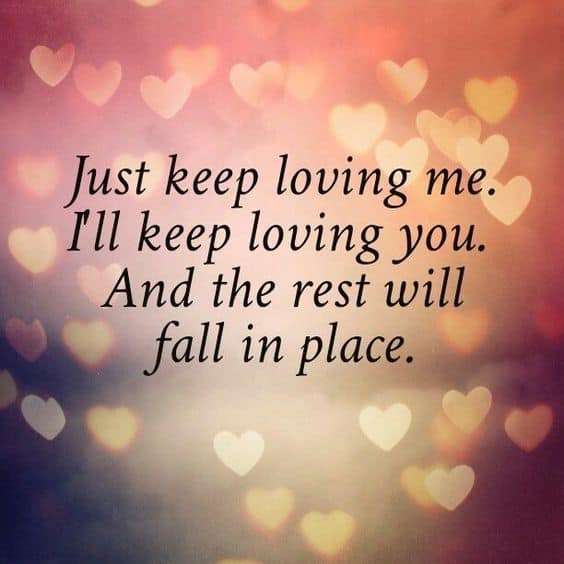 Love sweet quotes i for her you Sweet Romantic