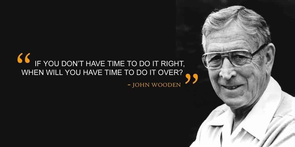 80 John Wooden Quotes On Leadership Game Life