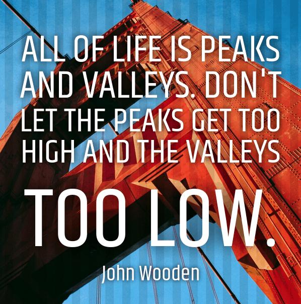 john wooden quote best