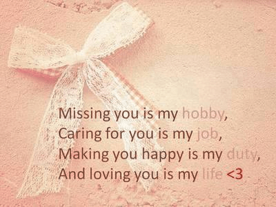 girlfriend quotes. missing, caring, loving