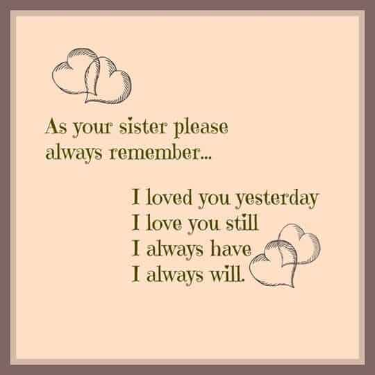 Sister Quotes Sayings