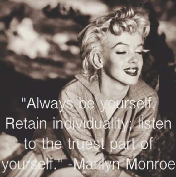 60 Best Marilyn Monroe Quotes On Love And Life Extraordinary Marilyn Monroe Quotes About Friendship