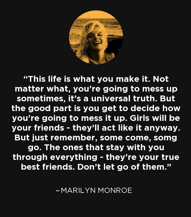 Nice Marilyn Monroe Quotes. U201c