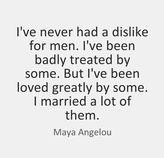 Maya Angelou Poems On Marriage