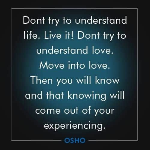Nice Quotes About Life Impressive Best 100 Osho Quotes On Life Love Happiness