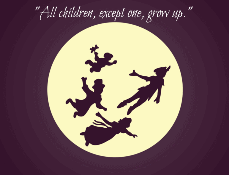 Grow Up Quotes Custom 40 Best Peter Pan Quotes With Images