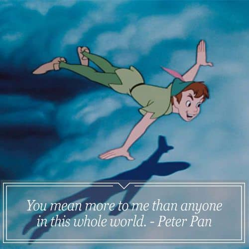 Cute Love Quotes From Disney Movies: 40 Best Peter Pan Quotes With Images