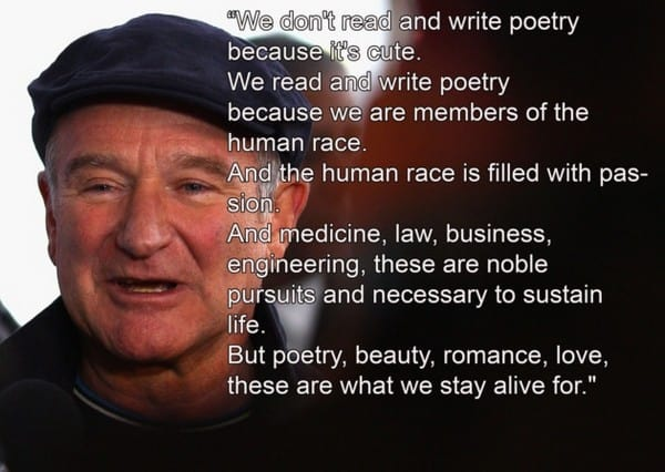 Amazing Robin Williams Quotes. U201c