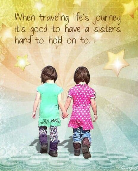 I Love My Sister Quotes | Top 100 Sister Quotes And Funny Sayings With Images