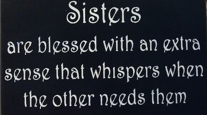 Sister Quotes Blessed