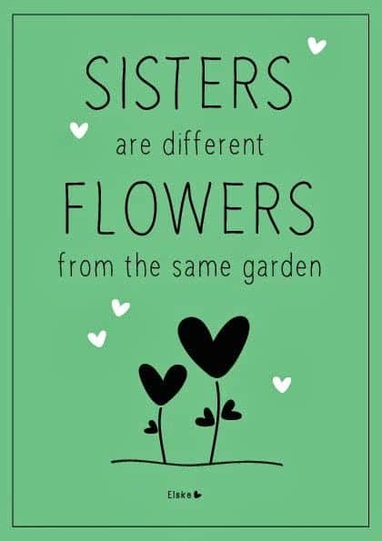 Citaten About Love : Top 100 sister quotes and funny sayings with images