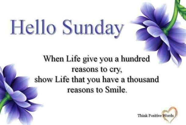 Sunday Blessings Quotes Fascinating 48 Inspirational Sunday Quotes And Images