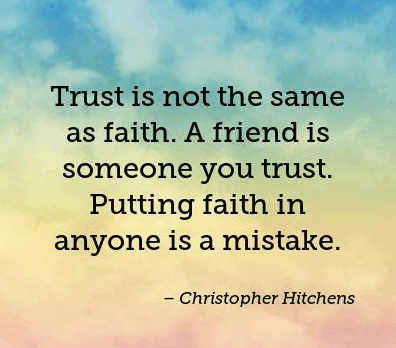 Top 100 Quotes On Trust And Trust Issues