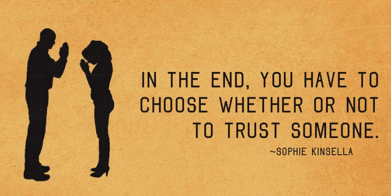 what does trust thyself mean