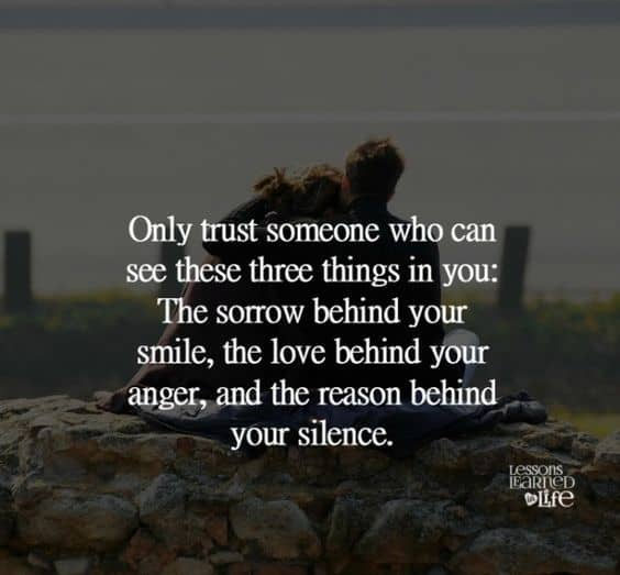 Quotes On Trust And Trust Issues Love. U201c