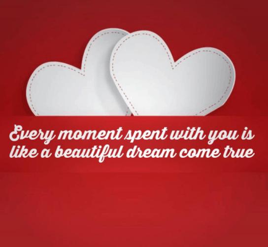 Romantic valentine quotes for her