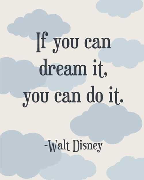 Disney Quotes About Dreams 65 Best Walt Disney Quotes With Images Disney Quotes About Dreams