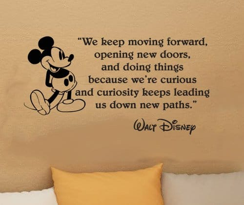 Disney Quote: 65 Best Walt Disney Quotes With Images