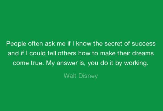 Walt Disney Quotes On Success, Dreams