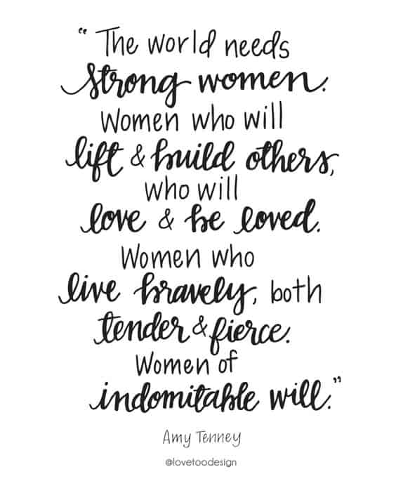 Strong Love Quotes Unique Top 48 Strong Women Quotes With Images