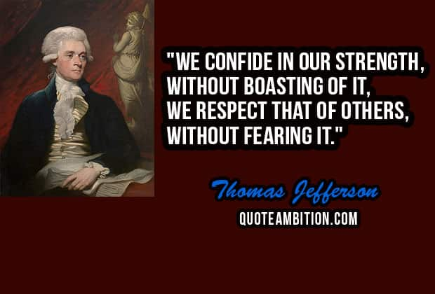 Thomas Jefferson Quote Interesting Top 48 Famous Thomas Jefferson Quotes