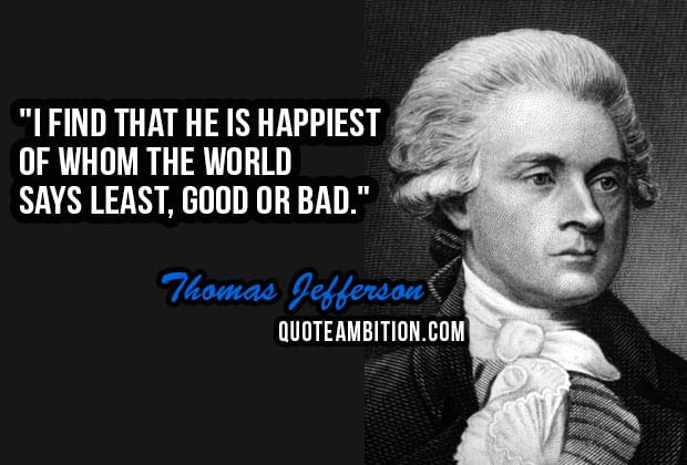 Top 60 Famous Thomas Jefferson Quotes Extraordinary Thomas Jefferson Famous Quotes