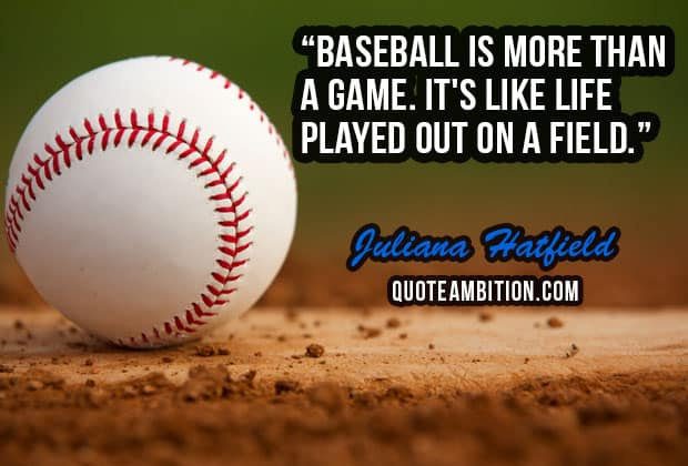 Baseball Quote Extraordinary 100 Famous Inspirational Baseball Quotes And Sayings