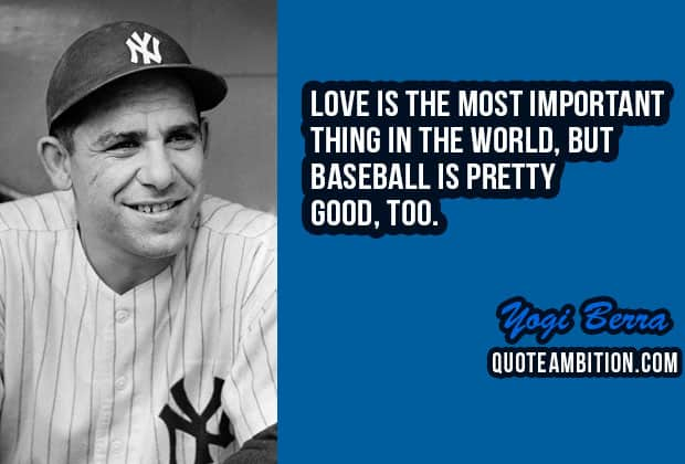 60 Famous Inspirational Baseball Quotes And Sayings New Baseball Love Quotes