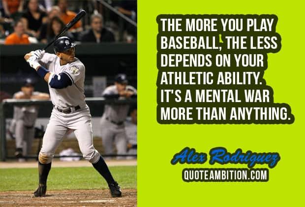 Baseball Quote Mesmerizing 48 Famous Inspirational Baseball Quotes And Sayings