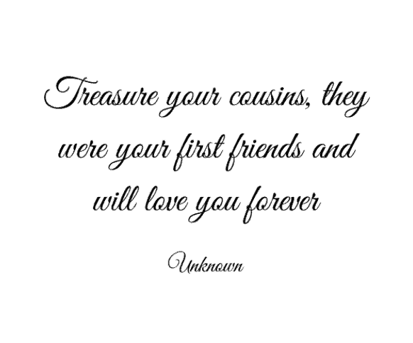 Quotes About Cousins Love Cool 40 Best Cousin Quotes And Sayings You'll Love