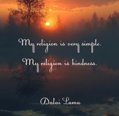 dalai lama quote on religion