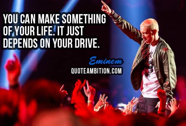 70 Best Eminem Quotes On Life Music Success